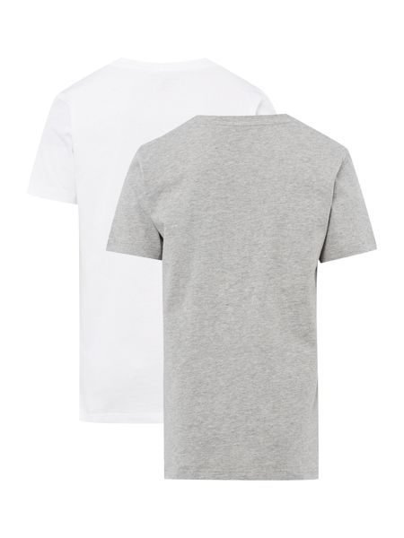 Tommy Hilfiger Boys 2 Pack Short sleeve Cotton Tee