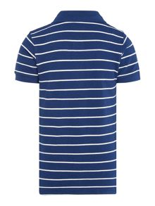 Joules Boys Striped Pique Polo Shirt