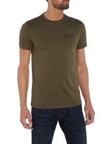 EA7 Short Sleeve Train Core ID Crew Neck Tee