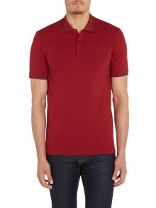Armani Jeans Regular fit tipped logo polo