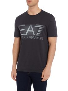 EA7 Short Sleeve Graphic Crew Neck Tee