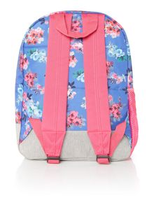 Joules Girls Floral Rucksack