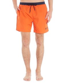 Hugo Boss Starfish Contrast Waistband Swim Short