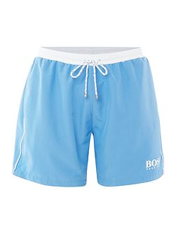 Starfish Contrast Waistband Swim Shorts
