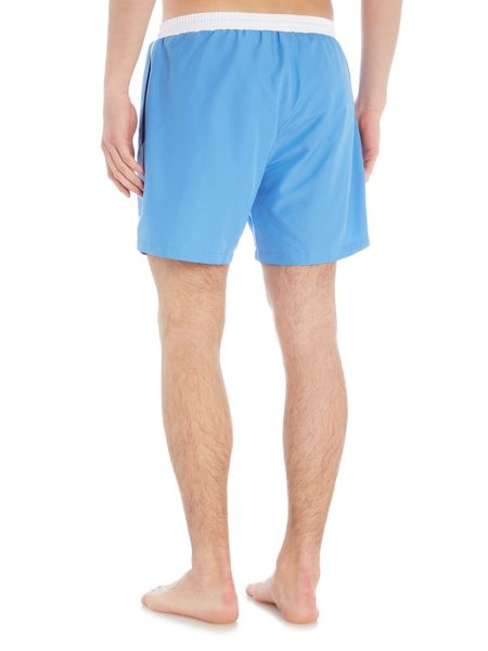 Hugo Boss Starfish Contrast Waistband Swim Shorts