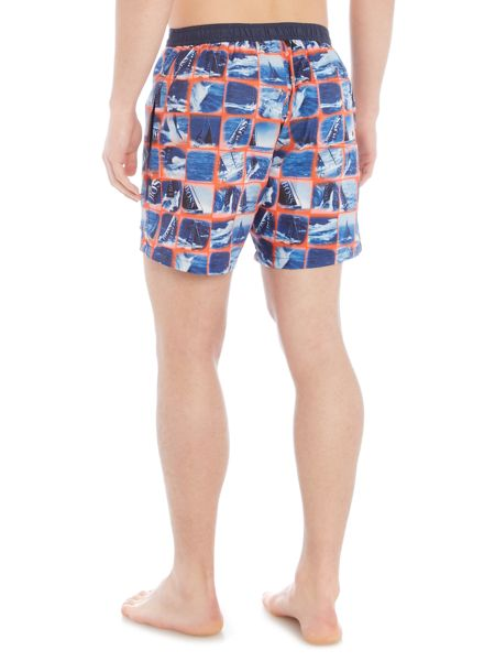 Hugo Boss Octapus Print Swim Shorts