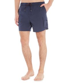 Hugo Boss Bull Shark With Removable Slip Swim Shorts