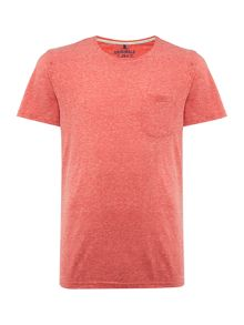 Jack & Jones Marl Pocket Crew Neck Short Sleeve T-shirt