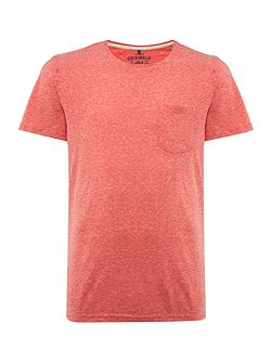 Marl Pocket Crew Neck Short Sleeve T-shirt