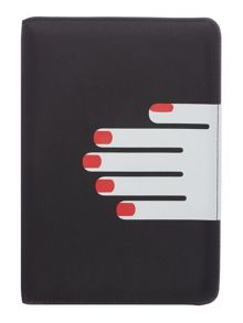 Lulu Guinness Blk hands kindle case