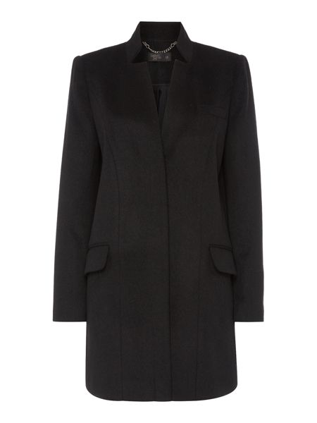 Label Lab Stand collar single breasted coat