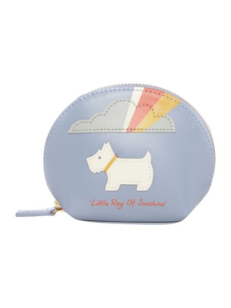 Radley Little ray of sunshine blue small coin purse