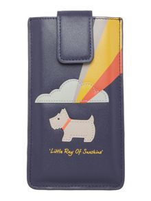 Radley Little ray of sunshine navy iphone 6 case
