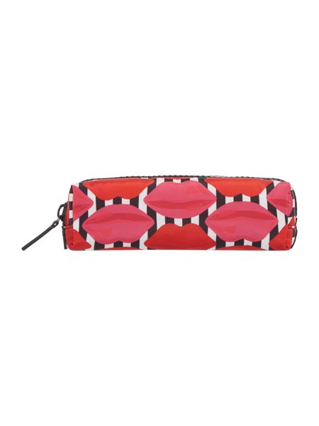 Lulu Guinness Multi lips brush case