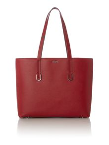 Hugo Boss Nives red medium shoulder tote