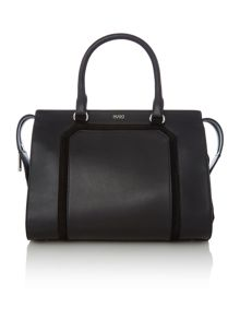 Hugo Boss Fania black medium tote bag