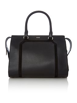 Fania black medium tote bag