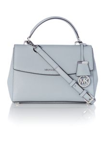 Michael Kors Ava blue small satchel bag