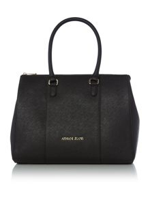 Armani Jeans Eco saff black tote bag