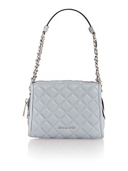 Rachel blue medium shoulder bag