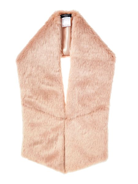 Therapy Faux fur scarf
