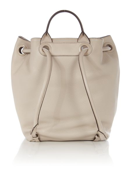 Michael Kors Dalia neutral large backpack