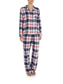 Dickins & Jones Winter Check PJ Set