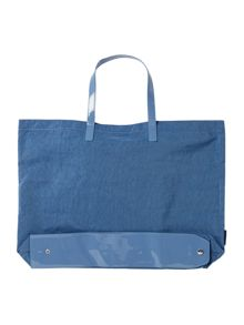Armani Jeans Blue fold up tote bag