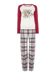 Dickins & Jones Hedgehog Pyjama Set
