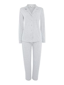 Yarn Dyed Stripe super soft Jersey PJ Set