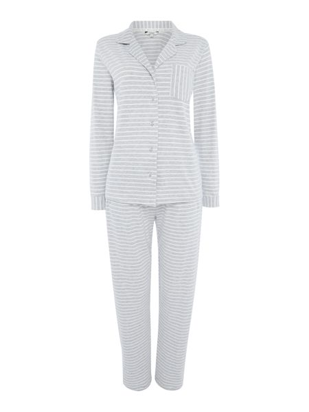 Dickins & Jones Yarn Dyed Stripe Jersey PJ Set
