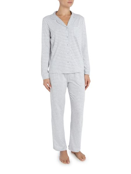 Dickins & Jones Yarn Dyed Stripe super soft Jersey PJ Set