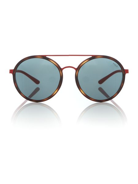 Polo Ralph Lauren Red round PH3103 sunglasses