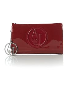 Armani Jeans Red clutch bag