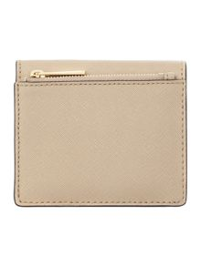 Michael Kors Jetset travel tan carryall card case