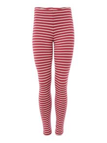 Benetton Girls Striped Leggings