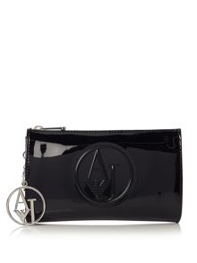 Armani Jeans Black clutch bag