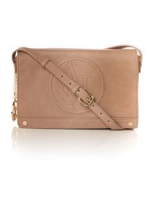 Armani Jeans Taupe crossbody bag