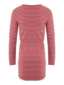 Benetton Girls Jersey Stripe Dress