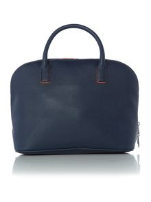 Armani Jeans Blue grab dome bag