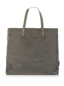 Armani Jeans Taupe fold up tote bag