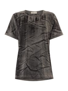 Label Lab Camo burnout tee