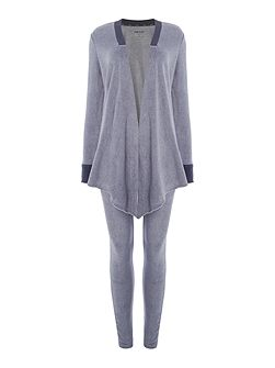 Long sleeve cosy lounge top and leggings