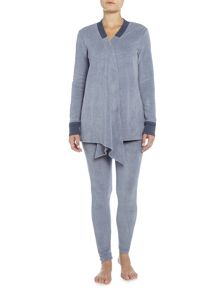 DKNY Long sleeve cosy lounge top and leggings