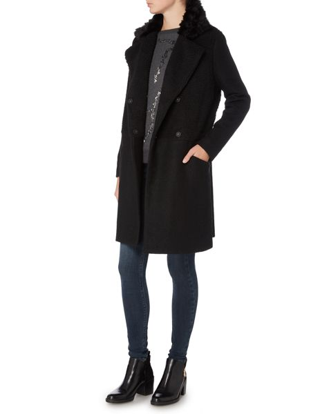 Label Lab Black alameda coat