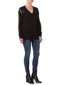 Label Lab Acacia cable back jumper