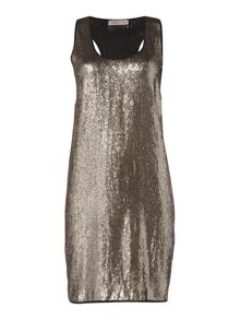 Label Lab Truro metallic party sequin dress