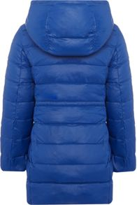 Benetton Girls Long Line Padded Coat