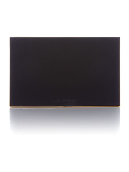 Lulu Guinness One in a million olivia clutch bag