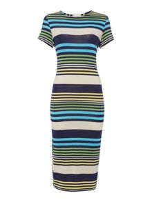 Therapy Multi Stripe Dress